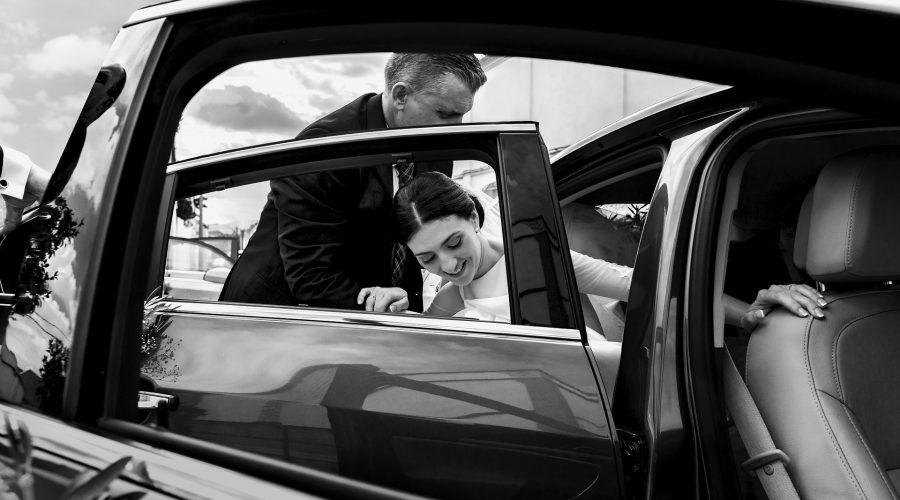 BMW samochód na ślub